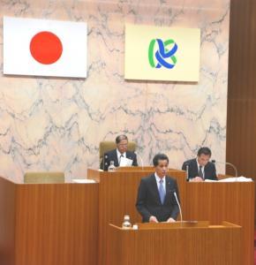 平成26年第1回笠間市議会定例会施政方針演説