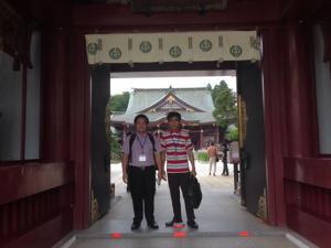 『笠間稲荷神社にて』の画像