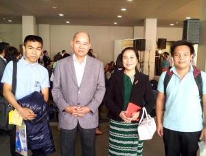『在日ミャンマー大使と面会』の画像