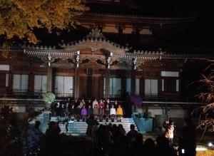 『西念寺にて』の画像