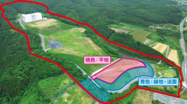 『笠間東工業団地(写真)』の画像