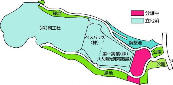 『笠間東工業団地(図)』の画像