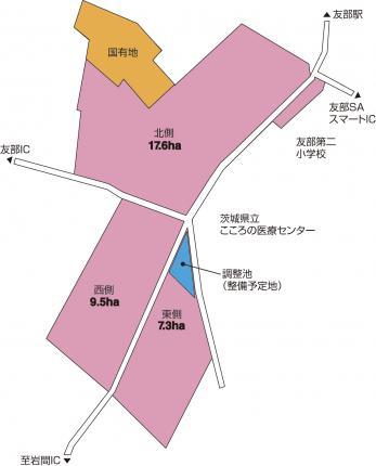 畜産試験場跡地(図)