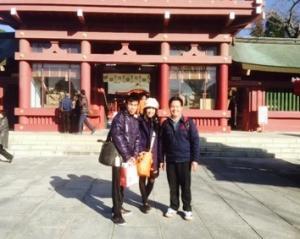 『笠間稲荷神社へ』の画像