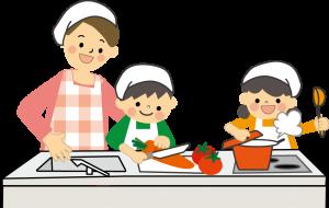 『親子料理教室』の画像