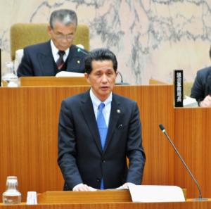 『平成27年第1回笠間市議会定例会施政方針演説(山口市長)』の画像