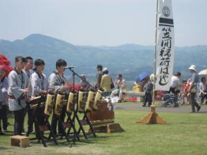 『笠間稲荷囃子』の画像