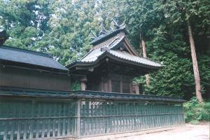 『14三所神社の本殿』の画像