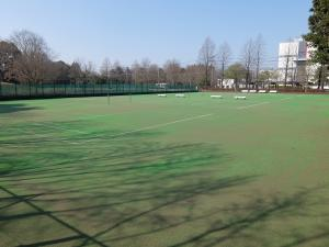 『岩間工業団地テニスコート(全景)』の画像