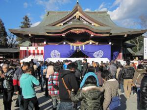『『笠間稲荷神社の初詣』の画像』の画像