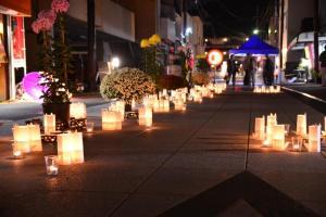 『かさま門前菊あかりの様子2』の画像