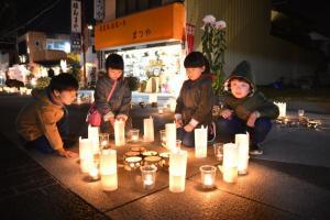 『かさま門前菊あかりの様子3』の画像