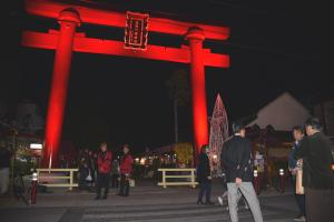 『かさま門前菊あかりの様子6』の画像