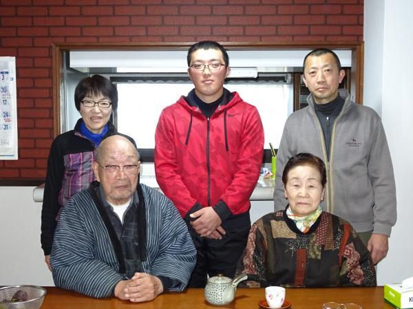 大島さんご家族1
