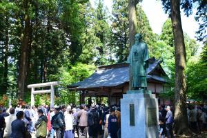 『合気神社 例大祭の様子1』の画像