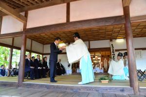 『合気神社 例大祭の様子2』の画像