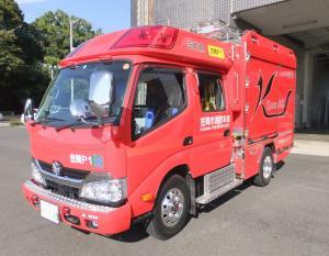 『消防ポンプ自動車CDーⅠ』の画像