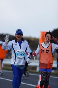 『笑顔で走る』の画像