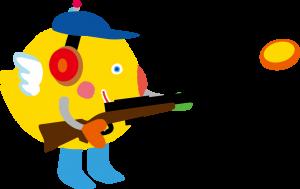 『いばラッキー クレー射撃』の画像