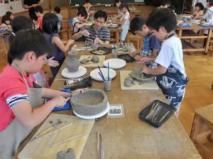 『陶芸教室2』の画像