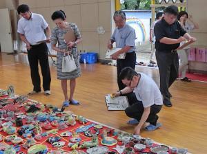 『陶芸審査会1』の画像