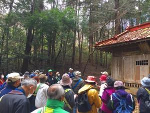 『『歴史散策会(鬼渡神社)』の画像』の画像