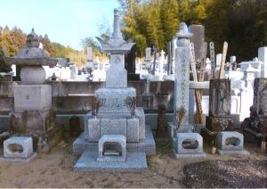 『里見家の墓地』の画像