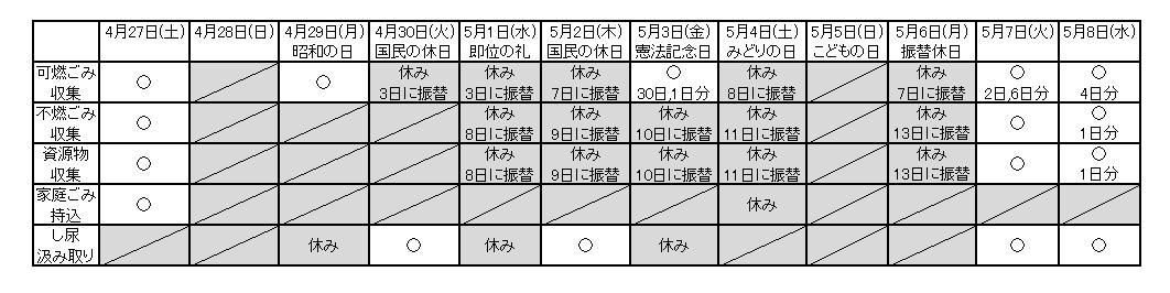 『H31GWkasama』の画像