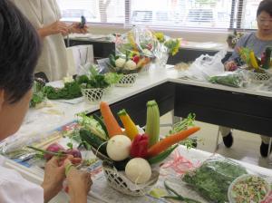 『野菜アレンジメント1』の画像