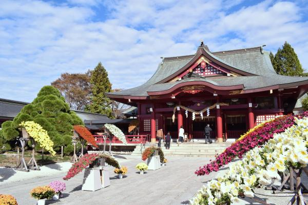 『笠間稲荷神社拝殿』の画像