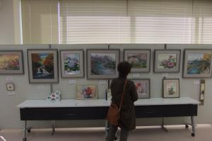 『ちぎり絵教室』の画像