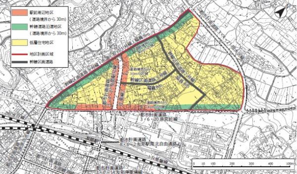 『南友部地区地区計画2』の画像