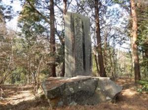 『小田五郎追弔碑』の画像