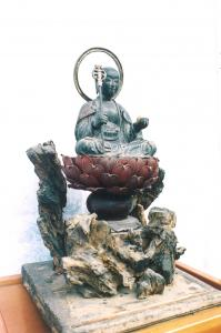 『木造子育て地蔵菩薩』の画像