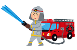 『消火活動』の画像