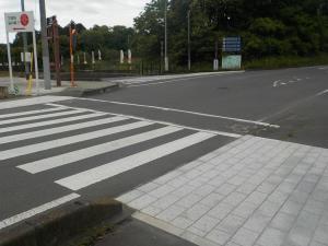 笠間芸術の森公園北駐車場入口