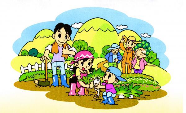 市民農園画像