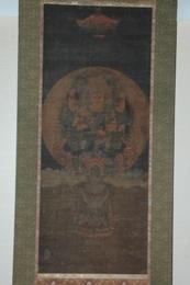 『絹本着色 愛染明王像』の画像
