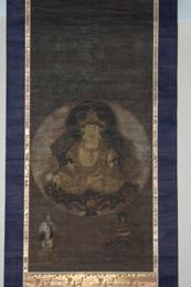 『絹本着色 虚空蔵菩薩像』の画像