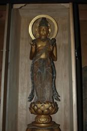 『毘沙門天立像』の画像