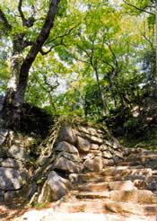 『笠間城跡』の画像