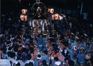 『八坂神社の祇園祭』の画像