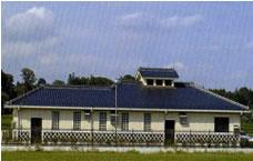 安居地区農業集落排水処理施設写真