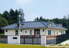 枝折川地区農業集落排水処理施設写真