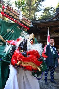 『六所神社例大祭の様子』の画像2