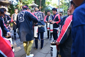 『六所神社例大祭の様子』の画像7