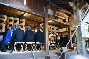 『六所神社例大祭の様子』の画像9