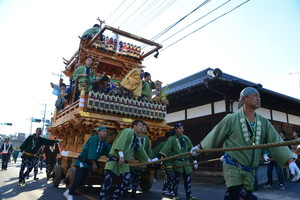 『六所神社例大祭の様子』の画像23