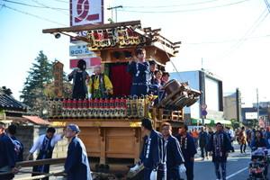 六所神社祭礼の様子の画像