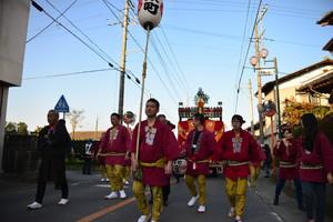 『六所神社例大祭の様子12』の画像